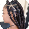 Braided Hairstyles-icoon