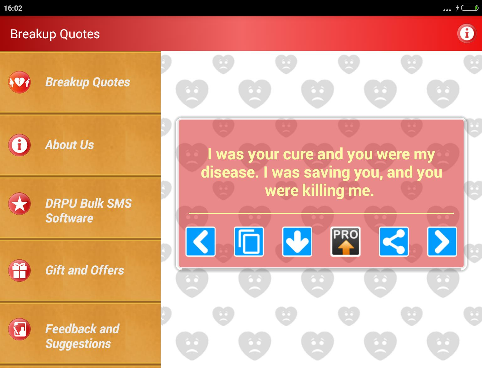 Breakup Status Move on Quotes for Android - APK Download