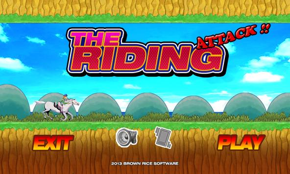 The Riding 2 poster