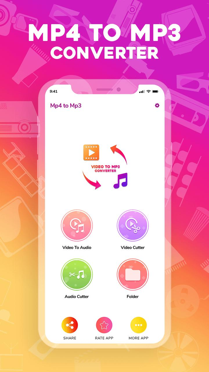 Mp4 to mp3-Video to mp3-Mp3 video converter for Android - APK Download