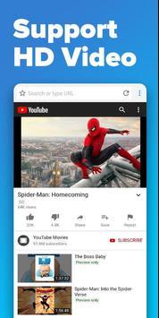 Browser 4G screenshot 3