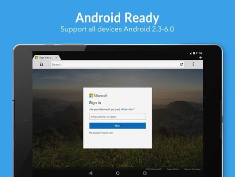 Browser 4G screenshot 9
