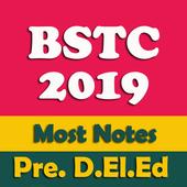 Pre BSTC 2019 Most Notes & Que Answar Pre D.El.Ed icon