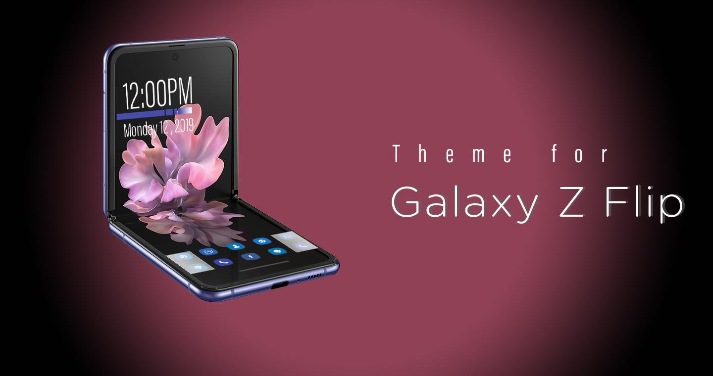 Theme For Samsung Z Flip Galaxy Z Flip For Android Apk Download