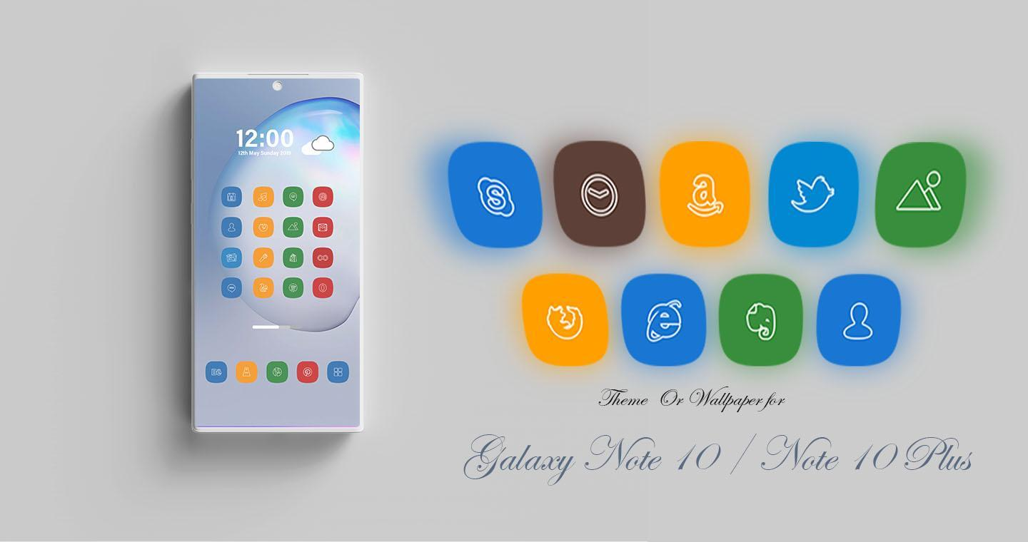 Theme For Samsung Note 10 Galaxy Note 10 Plus For Android