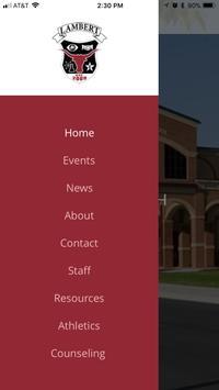 Lambert High School screenshot 1
