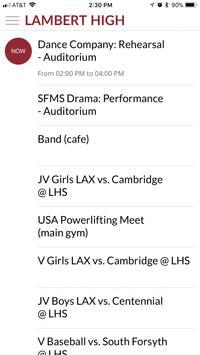 Lambert High School screenshot 2