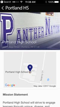 Portland High School screenshot 4