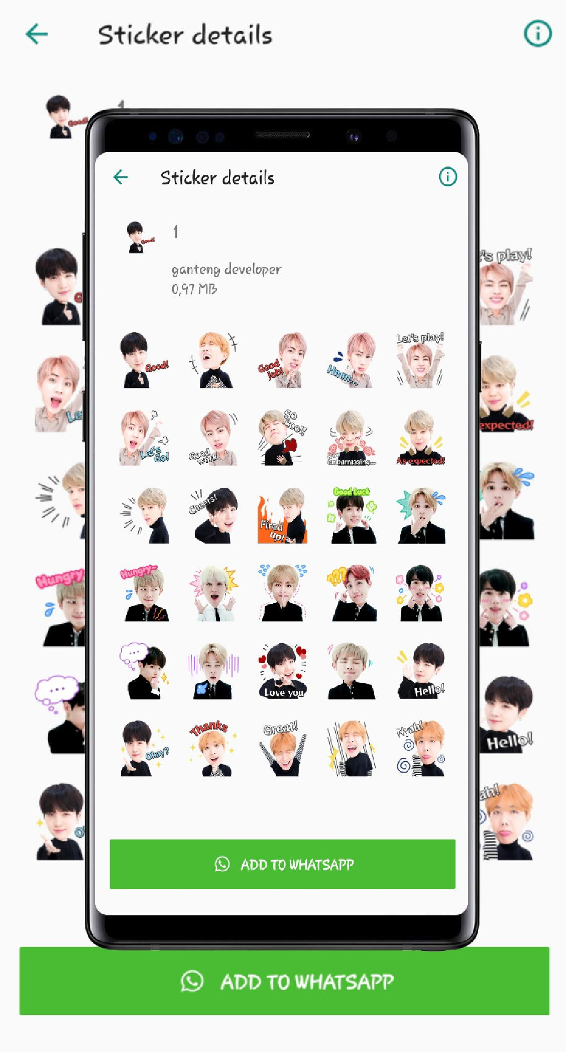 WA Sticker Kpop BTS for Whatsapp for Android - APK Download
