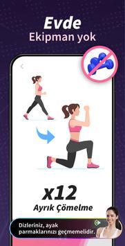 Kalça ve Bacaklar Egzersizi Ekran Görüntüsü 1