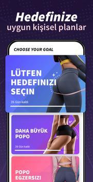 Kalça ve Bacaklar Egzersizi Ekran Görüntüsü 3