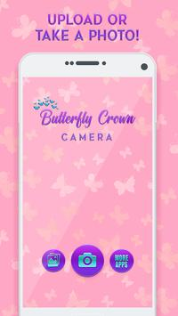 Butterfly Crown Camera - Filters for Selfies poster