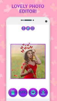 Butterfly Crown Camera - Filters for Selfies screenshot 2