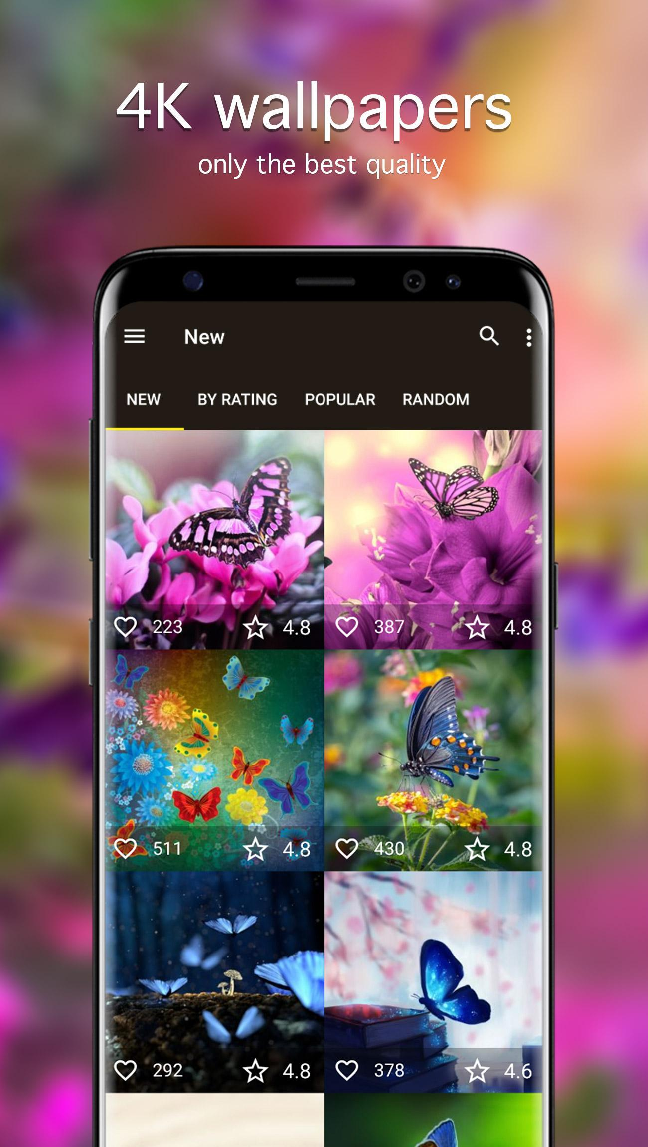 Butterfly Wallpapers 4K for Android ...