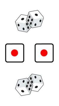 Twin Backgammon Dice poster