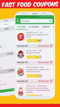 Best Fast Food Coupons App
