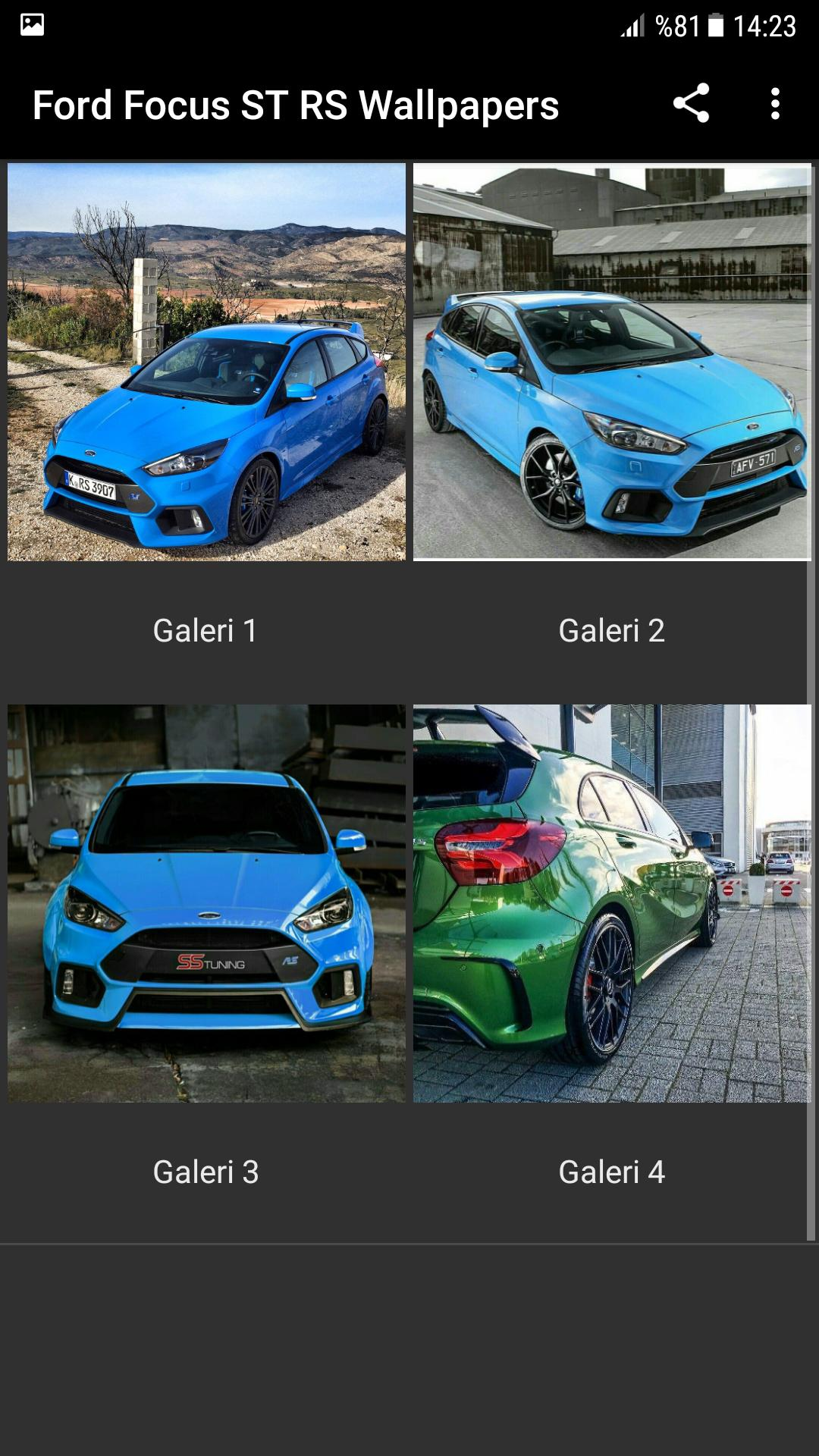 Ford Focus St Rs Wallpapers Modified For Android Apk Download