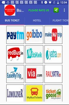 Bus Booking App - All Bus Ticket Online Booking poster