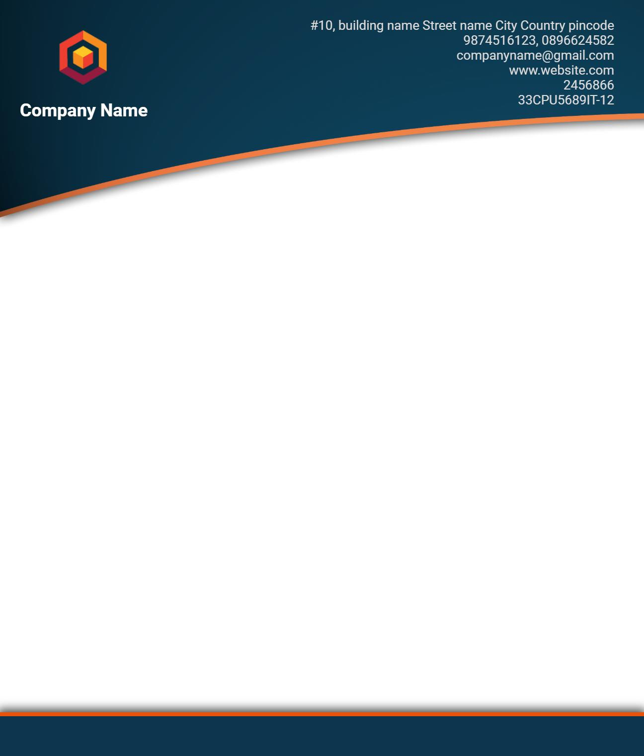 Download Template Kop Surat Perusahaan Gratis