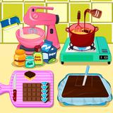 Bake Chocolate Caramel Candy Bars