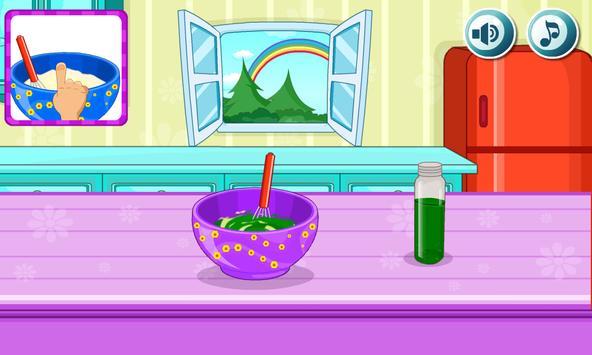 Cooking Rainbow Birthday Cake Screenshot 11