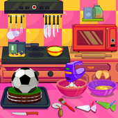 Cooking Sports Cake icon