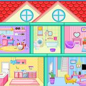 لعبة تصميم ديكور المنزل أيقونة