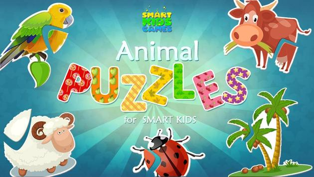 Animal Puzzles for Kids Free screenshot 15