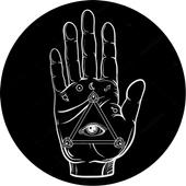 Хиромантия по фото руки icon