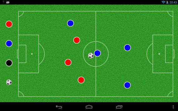 Football Tactic Table poster