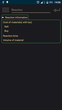 EVE Reaction Calculator poster
