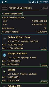 EVE Reaction Calculator screenshot 1