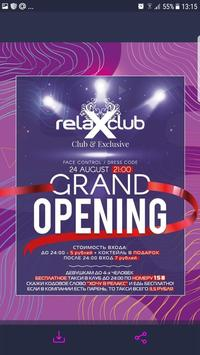 Relax Club poster