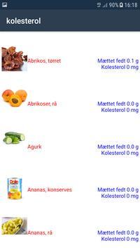 Kolesterol screenshot 1