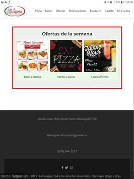 Lasagna Restaurante screenshot 5