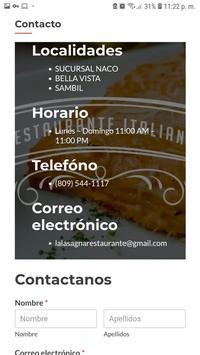 Lasagna Restaurante poster