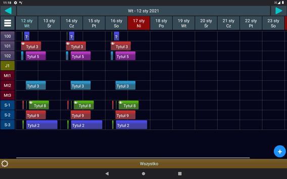 Menadżer Rezerwacji 3 Lt. screenshot 11