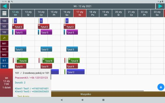 Menadżer Rezerwacji 3 Lt. screenshot 13