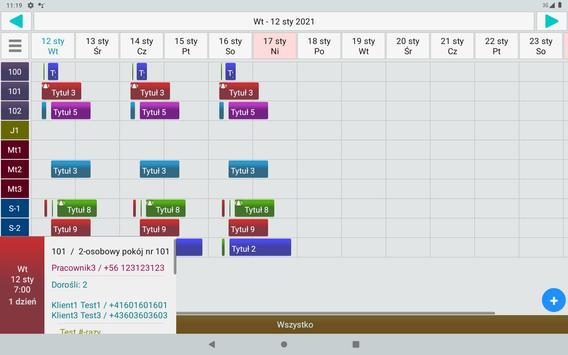 Menadżer Rezerwacji 3 Lt. screenshot 14