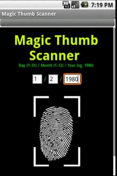 Magic Thumb Scanner poster