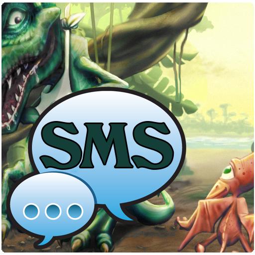 Dino Theme GO SMS Pro