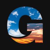 Picnic GO: Photo editor, sky overlay, lens flare icon