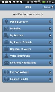 GeauxVote Mobile screenshot 1