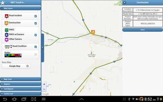 MDT Travel Info screenshot 8
