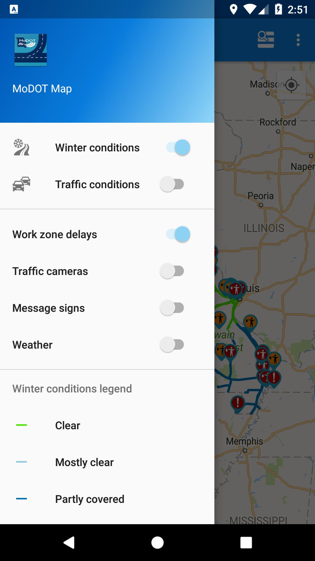 MoDOT Traveler Information for Android - APK Download