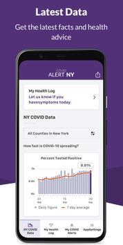 COVID Alert NY screenshot 3