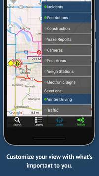 Iowa 511 Trucker تصوير الشاشة 5