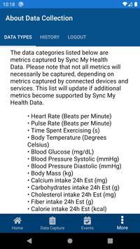 Sync My Health Data Ekran Görüntüsü 3