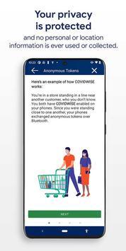 COVIDWISE скриншот 3