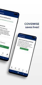COVIDWISE скриншот 2